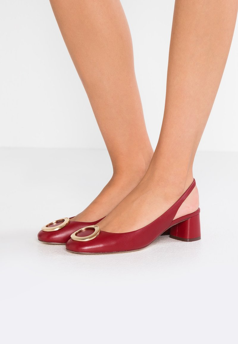 Tory Burch - CATERINA - Pumps - dark redstone