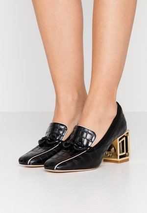 JESSA RECTANGLE HARDWARE  - Classic heels - perfect black