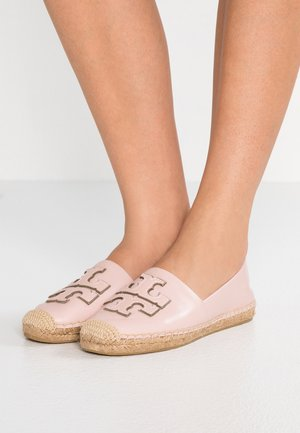 INES - Espadrilky - sea shell pink/silver
