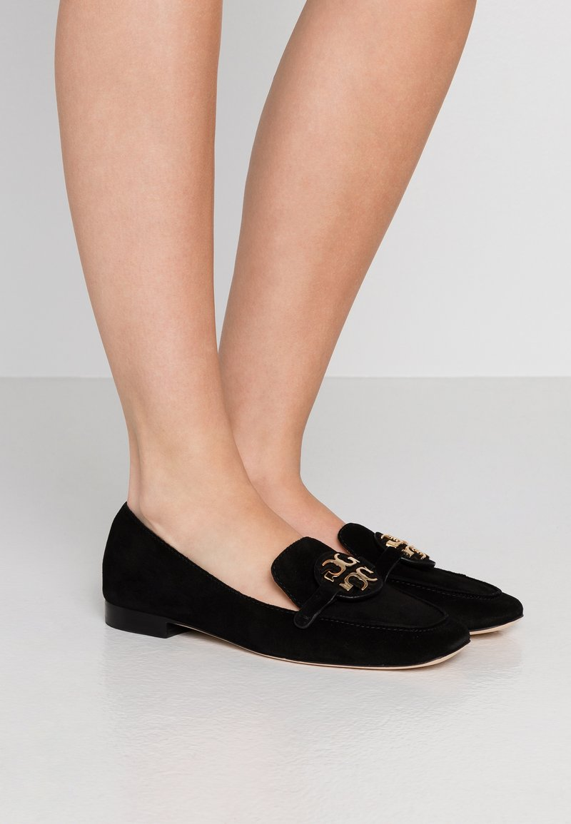 Tory Burch - METAL MILLER LOAFER - Nazouvací boty - perfect black/gold