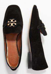 Tory Burch - METAL MILLER LOAFER - Nazouvací boty - perfect black/gold - 3