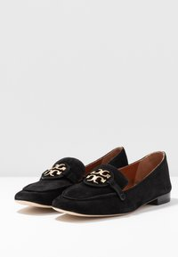 Tory Burch - METAL MILLER LOAFER - Nazouvací boty - perfect black/gold - 4