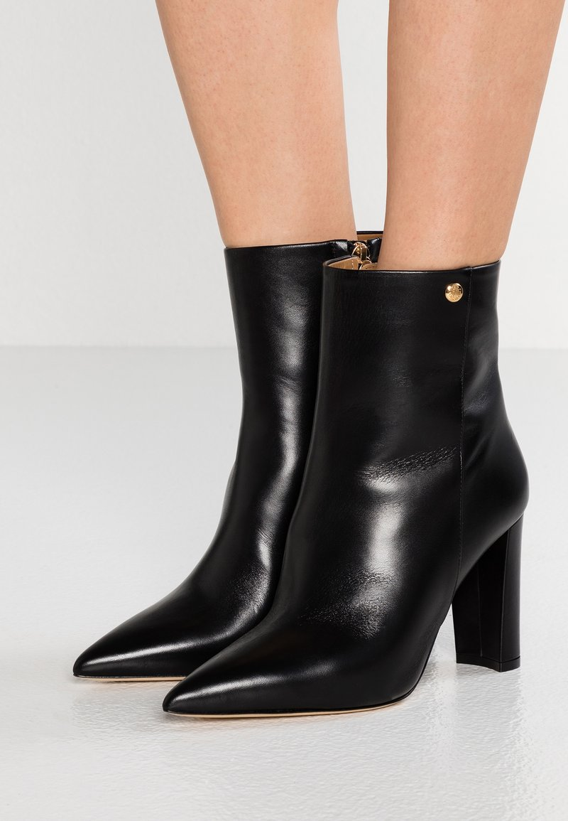 Tory Burch - PENELOPE BOOTIE - High heeled ankle boots - perfect black