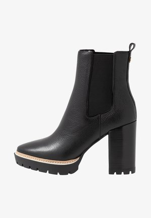 MILLER  BOOTIE - High heeled ankle boots - perfect black