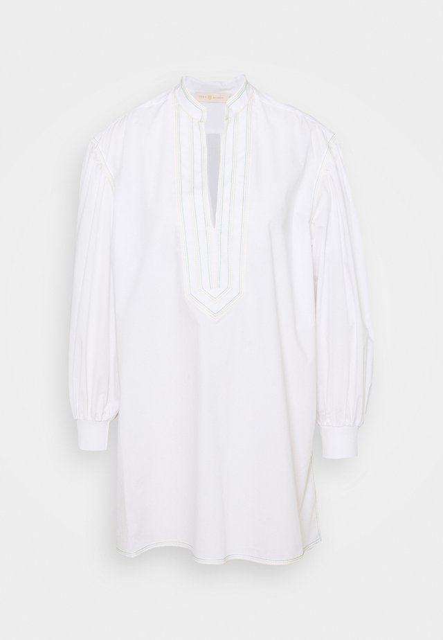 PUFFED SLEEVE - Tunic - white