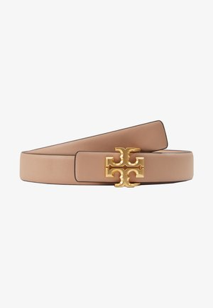 KIRA LOGO BELT - Cintura - devon sand/gold-coloured