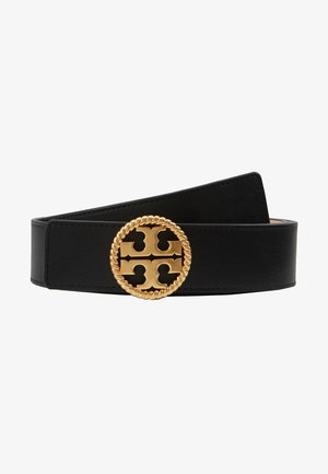 TWISTED LOGO BELT - Pásek - black
