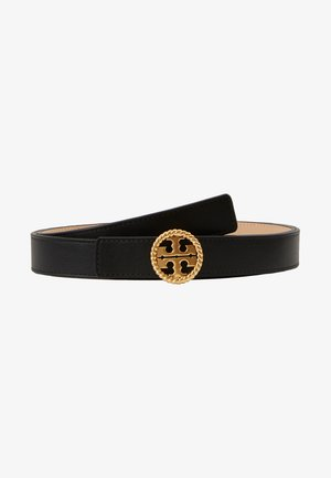TWISTED LOGO BELT - Cinturón - black