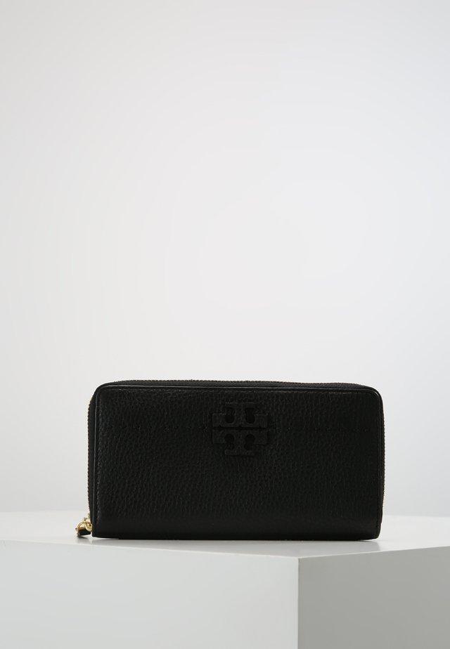 MCGRAW ZIP CONTINENTAL WALLET - Peněženka - black