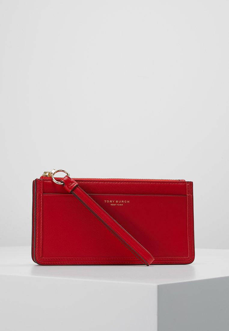 Tory Burch - PERRY ZIP WRISTLET - Pochette - brilliant red