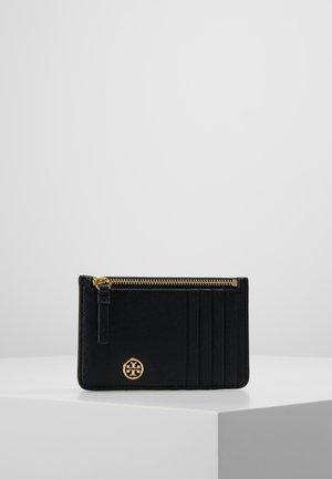 ROBINSON SLIM CARD CASE - Geldbörse - black