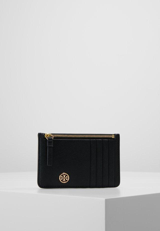 ROBINSON SLIM CARD CASE - Plånbok - black
