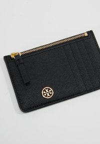 Tory Burch - ROBINSON SLIM CARD CASE - Geldbörse - black - 2