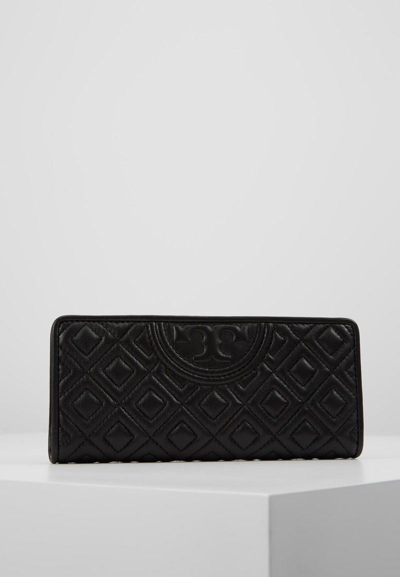 Tory Burch - FLEMING SLIM WALLET - Portefeuille - black