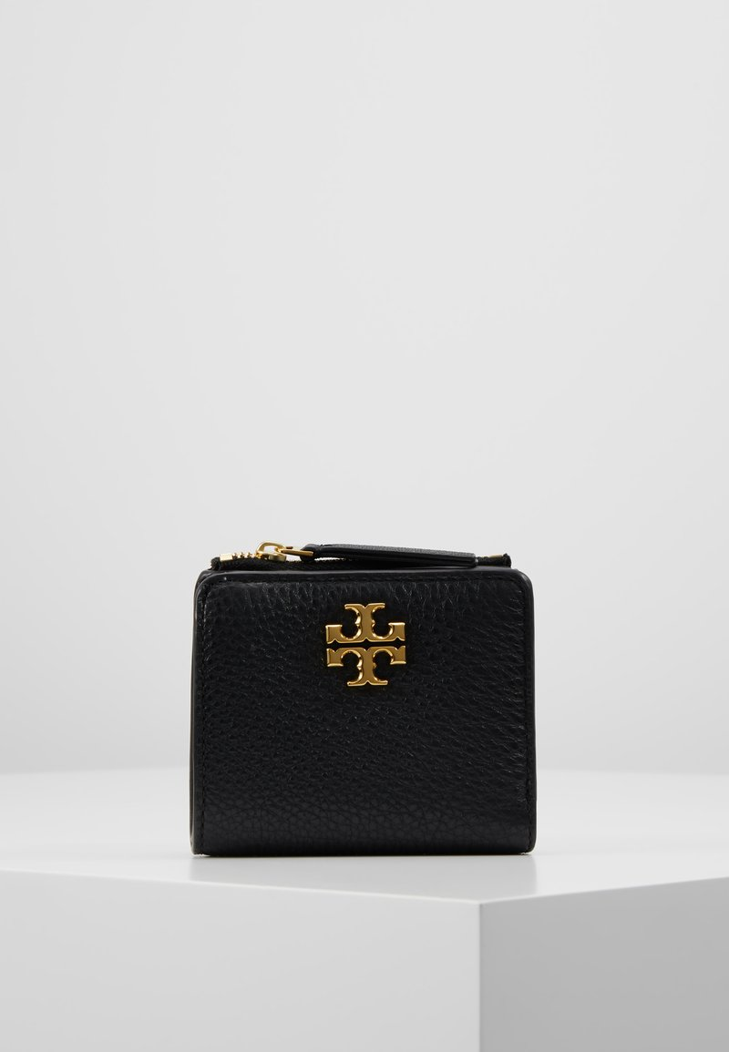 Tory Burch - KIRA MIXED MINI WALLET - Portfel - black