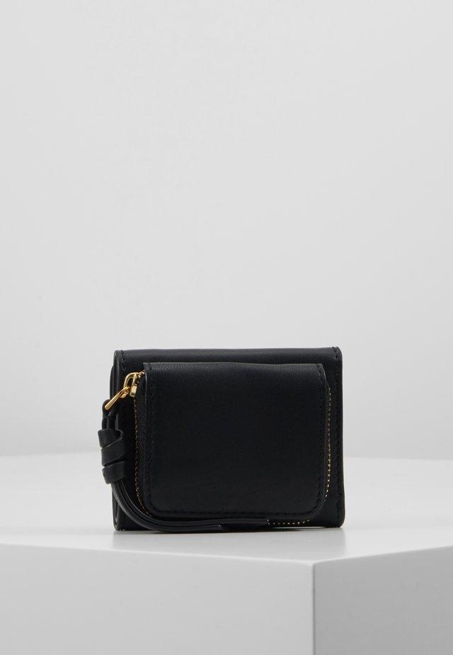 MILLER TRI FOLD MICRO WALLET - Geldbörse - black