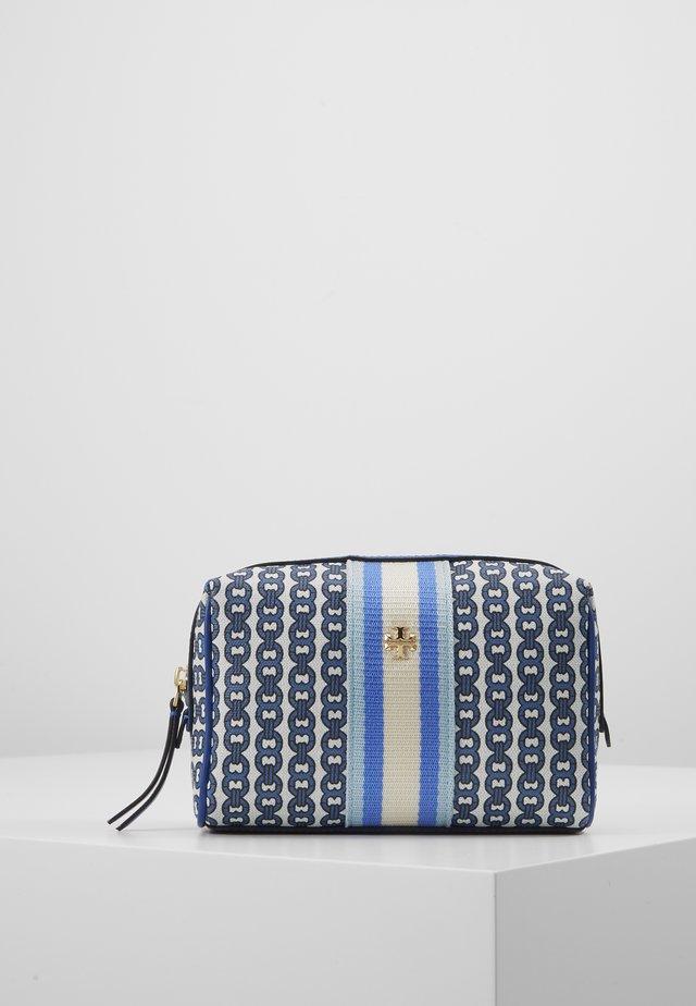 GEMINI LINK SMALL COSMETIC CASE - Wash bag - bondi blue