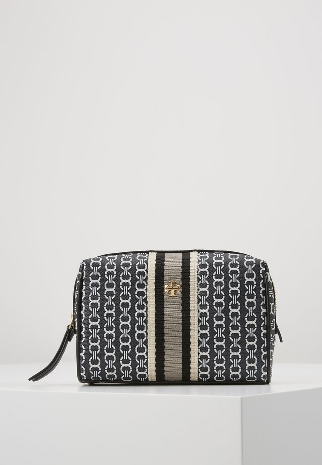 GEMINI LINK SMALL COSMETIC CASE - Wash bag - black