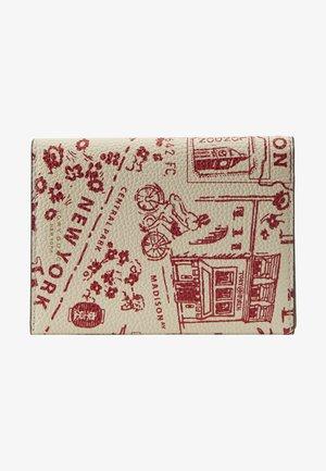 PERRY PRINTED PASSPORT CASE - Passport holder - red destination