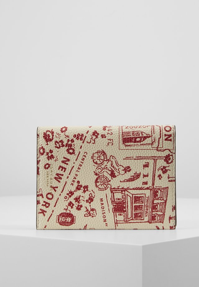 PERRY PRINTED PASSPORT CASE - Obal na cestovní pas - red destination