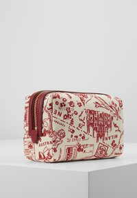 Tory Burch - PERRY PRINTED SMALL COSMETIC CASE - Trousse - red - 3