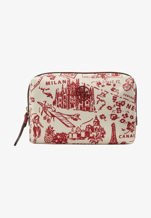 PERRY PRINTED SMALL COSMETIC CASE - Trousse - red