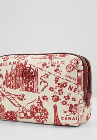 Tory Burch - PERRY PRINTED SMALL COSMETIC CASE - Trousse - red - 2