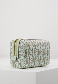 Tory Burch - PERRY PRINTED SMALL COSMETIC CASE - Trousse - green - 3