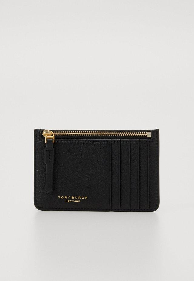 PERRY CARD CASE - Plånbok - black
