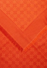 Tory Burch - LOGO TRAVELER SCARF - Pañuelo - canyon orange - 2