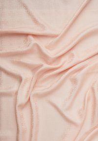 Tory Burch - LOGO TRAVELER SCARF - Foulard - sea shell pink - 1