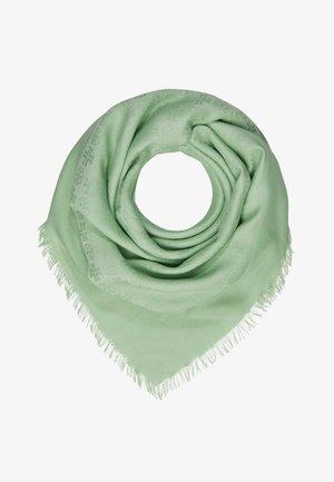 LOGO TRAVELER SCARF - Šátek - crushed mint