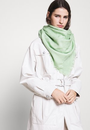 LOGO TRAVELER SCARF - Chusta - crushed mint