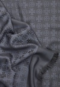 Tory Burch - LOGO TRAVELER SCARF - Foulard - eclipse