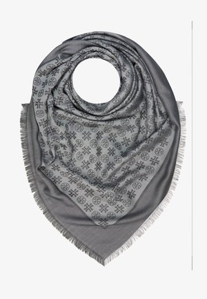 LOGO TRAVELER SCARF - Tuch - ashed gray