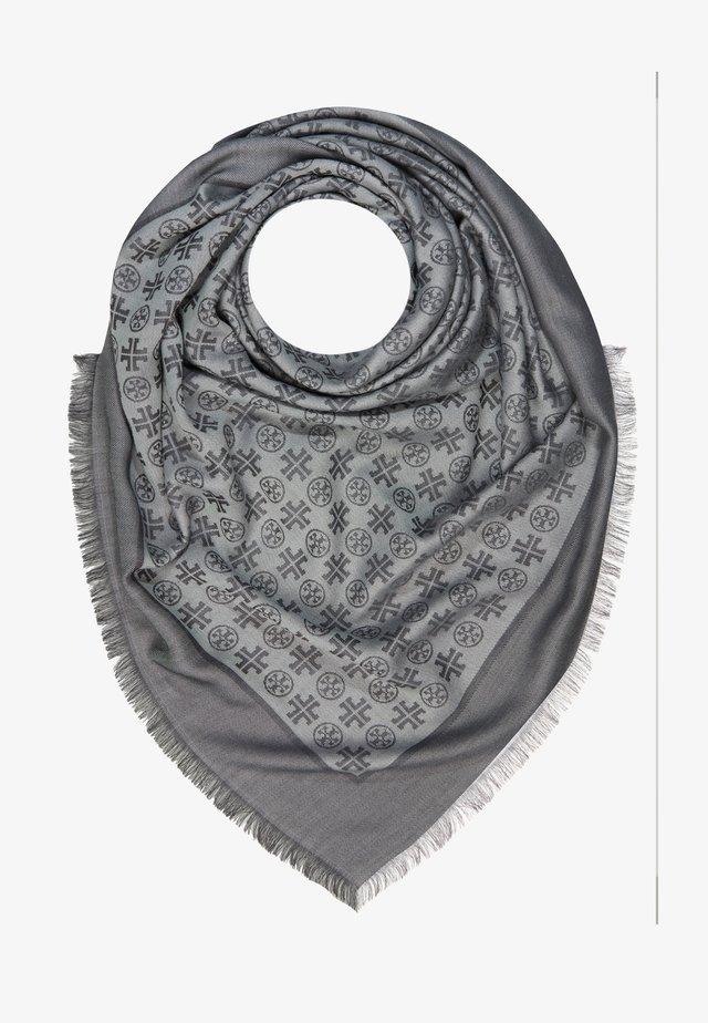 LOGO TRAVELER SCARF - Huivi - ashed gray