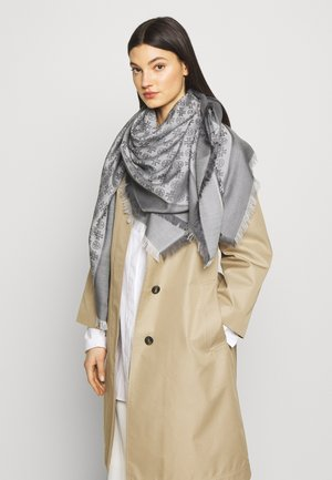LOGO TRAVELER SCARF - Tuch - ashed gray
