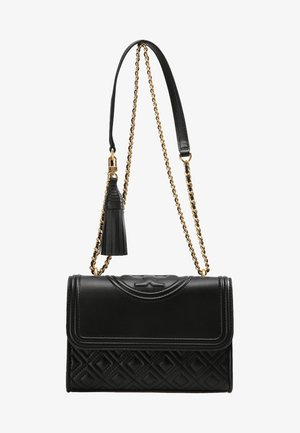 FLEMING SMALL CONVERTIBLE SHOULDER BAG - Olkalaukku - black