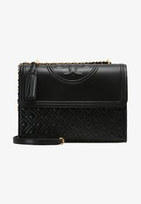 Tory Burch - FLEMING CONVERTIBLE SHOULDER BAG - Kabelka - black - 5