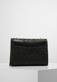Tory Burch - FLEMING CONVERTIBLE SHOULDER BAG - Kabelka - black - 2