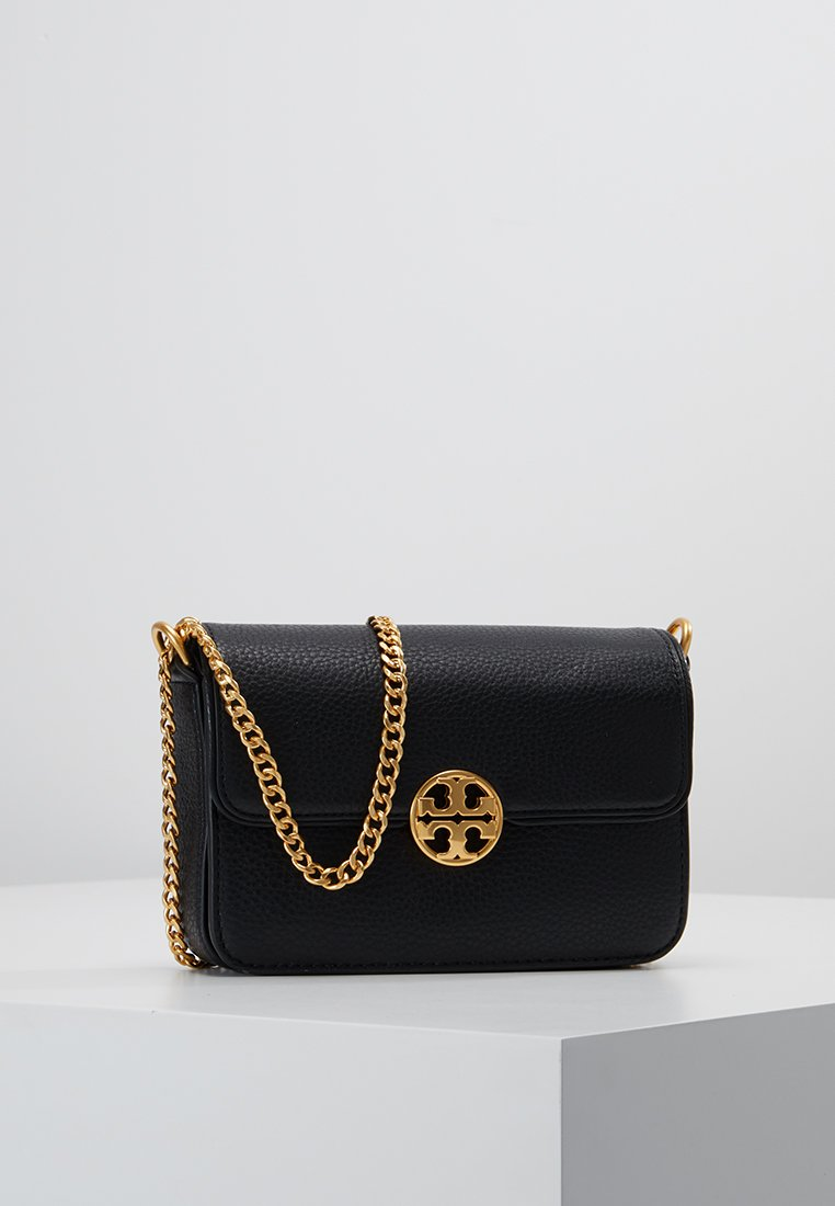 Tory Burch - CHELSEA MINI CROSS BODY - Across body bag - black