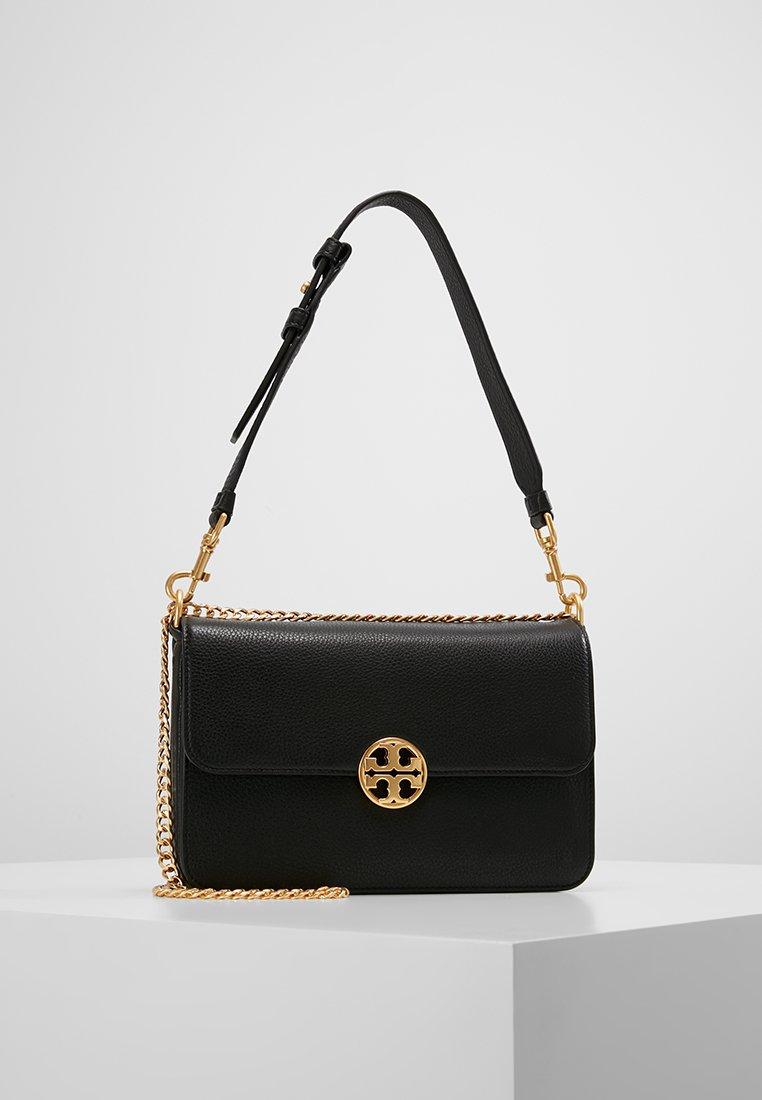 Tory Burch - CHELSEA SHOULDER BAG - Handbag - black