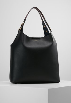 RORY TOTE - Shopping bag - black/royal navy/burgundy