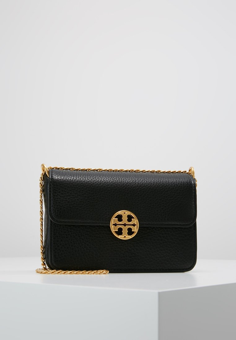 Tory Burch - CHELSEA MINI BAG - Torba na ramię - black