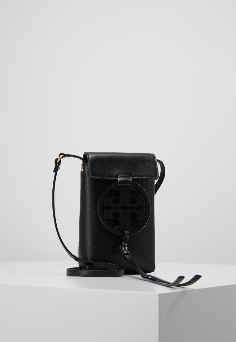 Tory Burch - MILLER PHONE CROSSBODY - Across body bag - black
