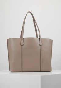 Tory Burch - PERRY TRIPLE COMPARTMENT TOTE - Kabelka - gray heron - 2
