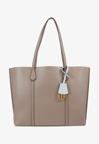 Tory Burch - PERRY TRIPLE COMPARTMENT TOTE - Kabelka - gray heron - 5