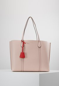 Tory Burch - PERRY TRIPLE COMPARTMENT TOTE - Handtasche - shell pink - 0
