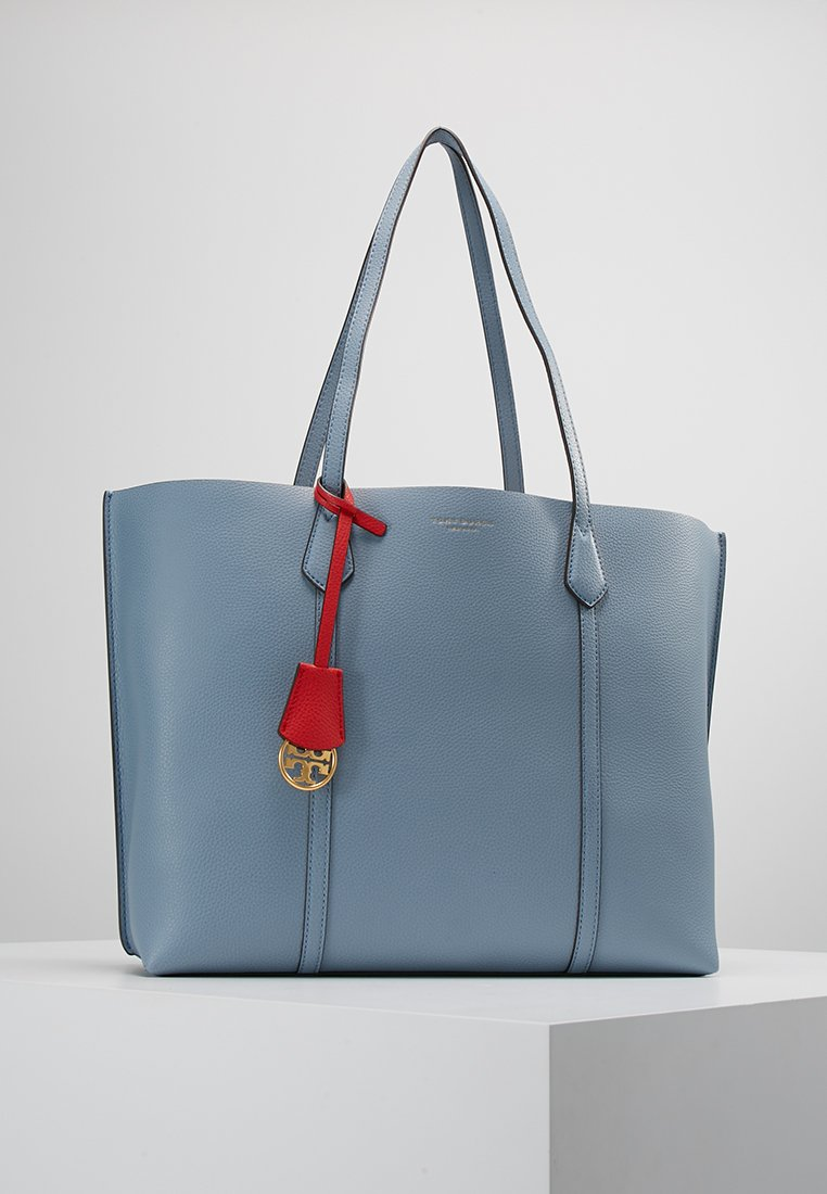 Tory Burch - PERRY TRIPLE COMPARTMENT TOTE - Shopping Bag - blue cloud