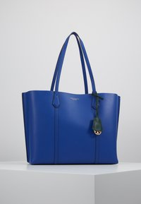 Tory Burch - PERRY TRIPLE COMPARTMENT TOTE - Handtas - nautical blue - 0